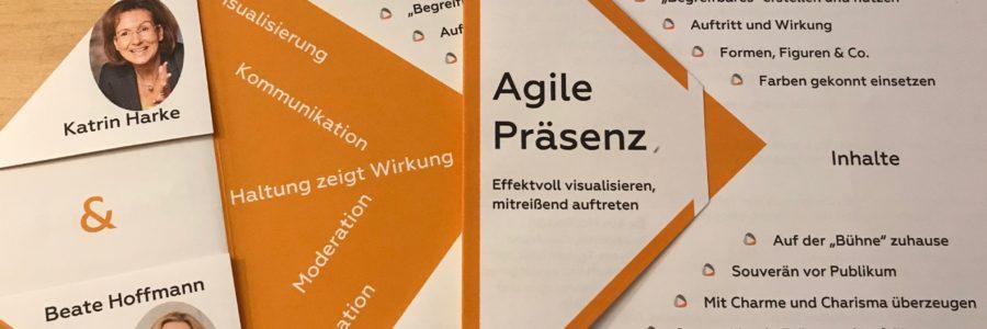 Agile Präsenz – Effektvoll visualisieren, mitreißend auftreten